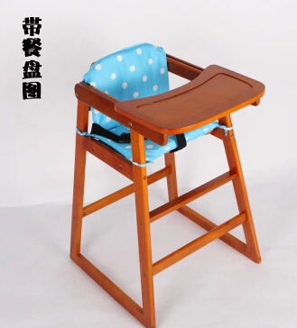 NEW Solid Wood baby dining chair
